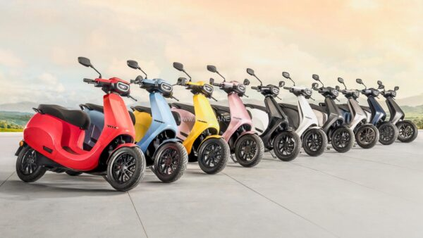 Ola Electric Scooter Colours