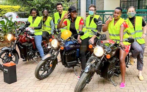 Kridn Electric Motorcycle in Kenya, Africa