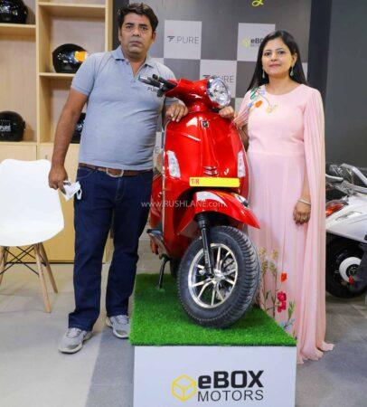 Pure EV Electric Scooter Showroom Delhi