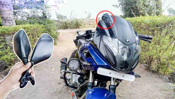 Removing rear view mirror banned