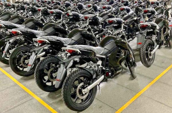 New batch of Revolt electric motorcycles - Shipping July 2021