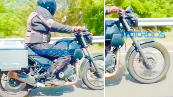 Royal Enfield Himalayan New Variant Spied Testing