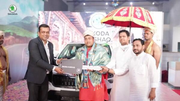 Skoda Kushaq Royal Delivery