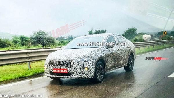 New Skoda Mid-Size Sedan On Test In India