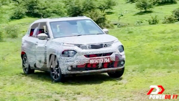 Tata HBX Spied During Off-road Testing