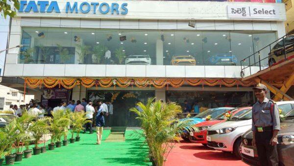 Tata Motors Select Cars Showroom, Hyderabad