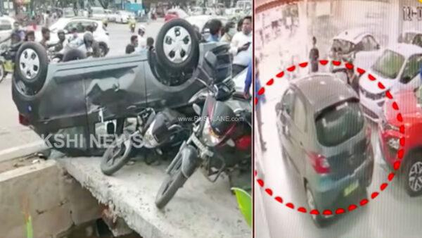 Tata Tiago delivery accident