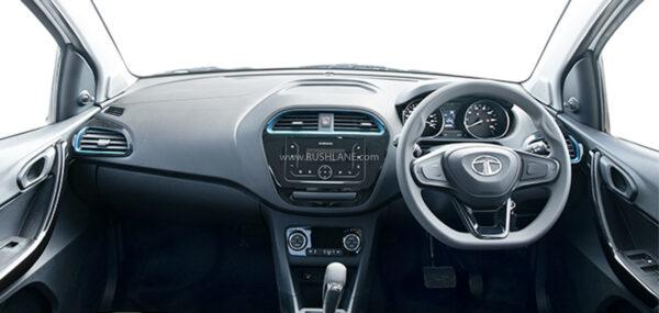 Tata Tigor Electric XPRES T EV Interiors
