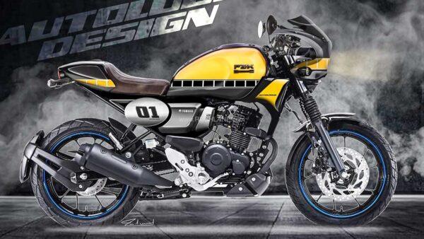 Yamaha FZ-X Custom Cafe Racer
