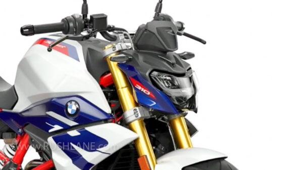 2021 BMW G310R New Colour