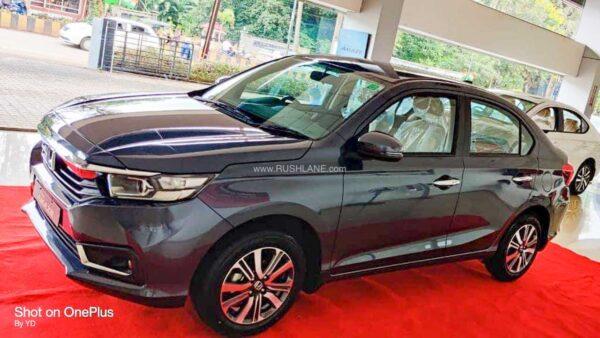 2021 Honda Amaze facelift