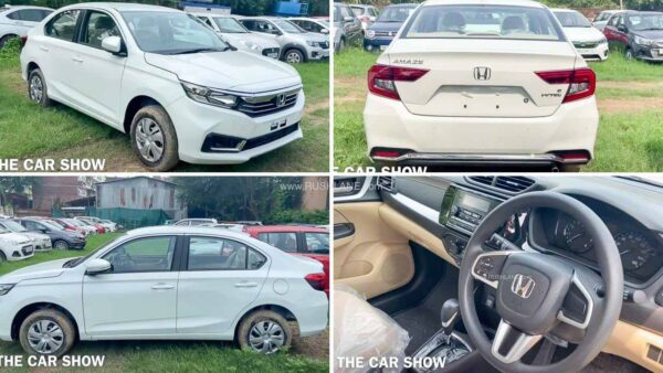 2021 Honda Amaze Facelift S CVT