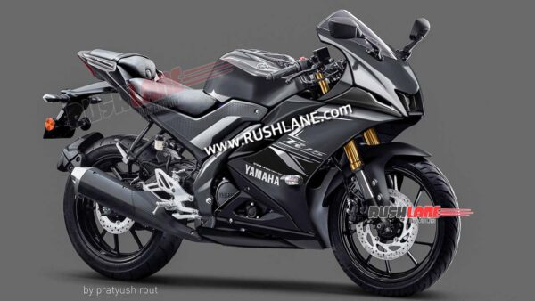 2021 Yamaha R15M Black Colour