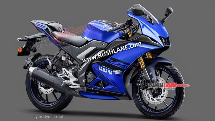 2021 Yamaha R15M Blue Colour