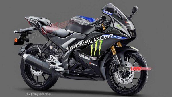 2021 Yamaha R15M Monster Energy MotoGP Edition - Render