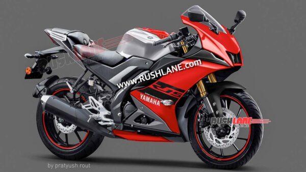 2021 Yamaha R15M Red Colour