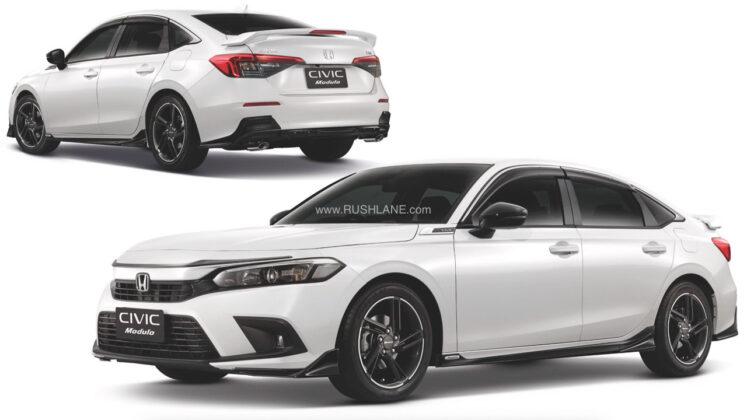 All new 2022 Honda Civic