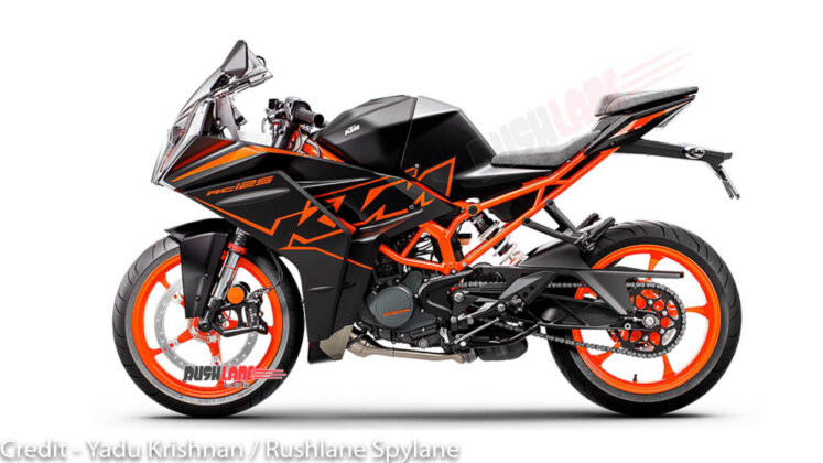 New KTM RC125