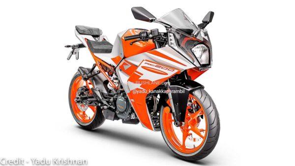 New KTM RC200