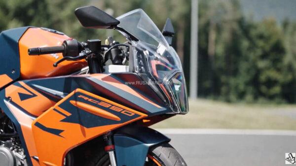 2022 KTM RC 390