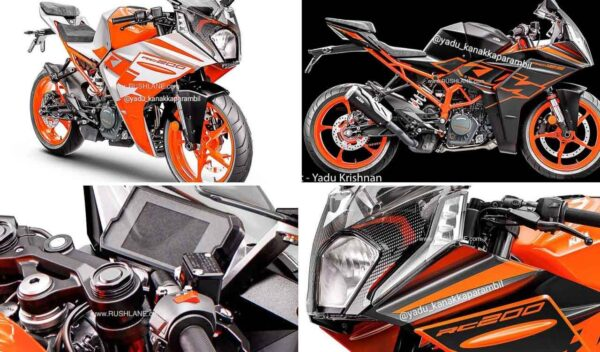 2022 KTM RC125 and RC200