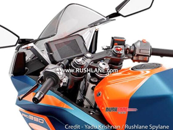 2022 KTM RC 390 Photos Leak