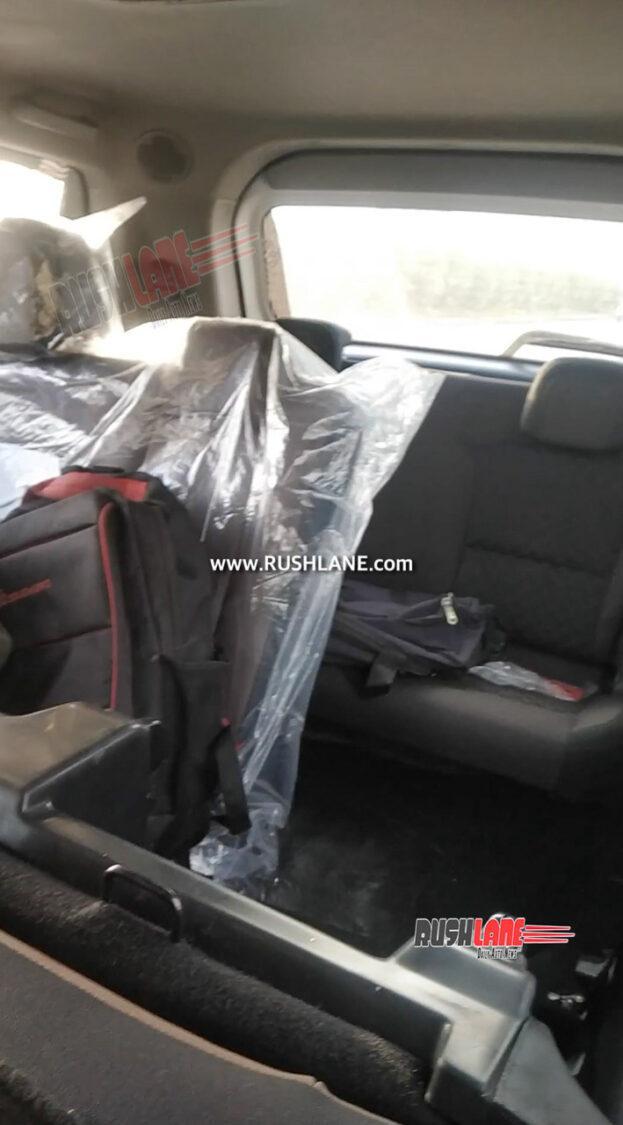 2022 Mahindra Scorpio Interiors - 7 Seater Variant
