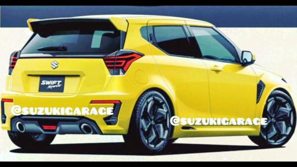 New Gen Suzuki Swift Sport