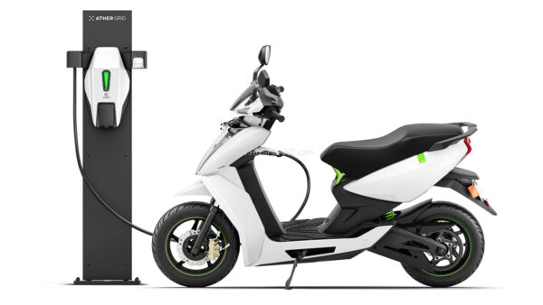 Ather electric scooter fast charging tech