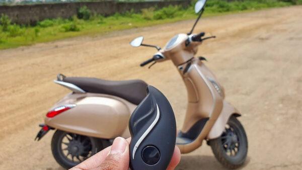 Bajaj Chetak Electric Scooter Sales July 2021