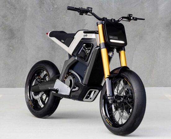 DAB Electric Motorcycle Concept-E