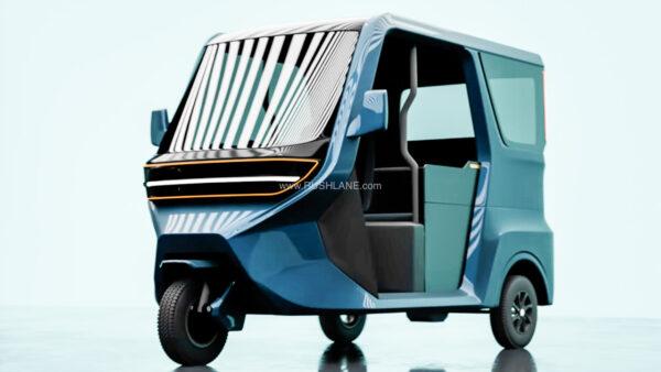 Vega ETX Electric Rickshaw Concept 2022