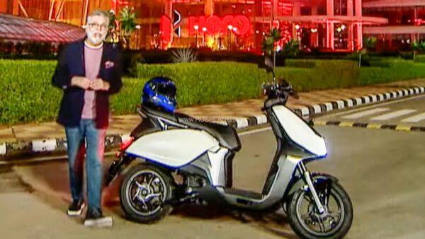 Hero MotoCorp electric scooter