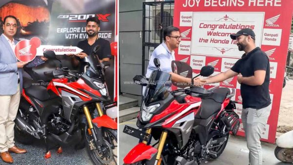 Honda CB200X Delivery Starts