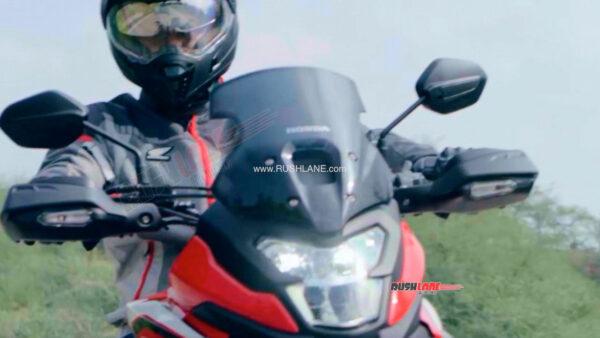 Honda NX200 Adventure Motorcycle Teaser