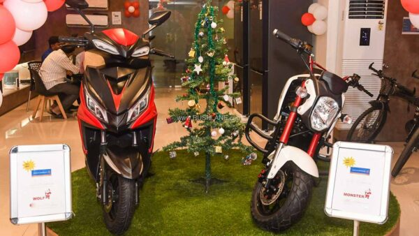 Joy Electric Scooter and Motorcycle
