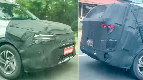 Upcoming Kia MPV for India