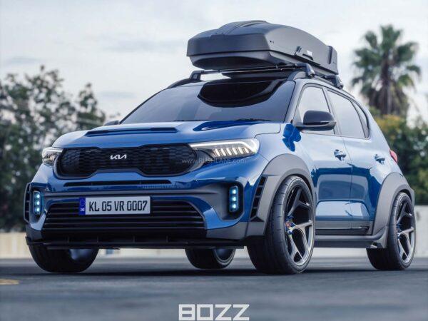 Kia Sonet Modified By Bozz Concepts