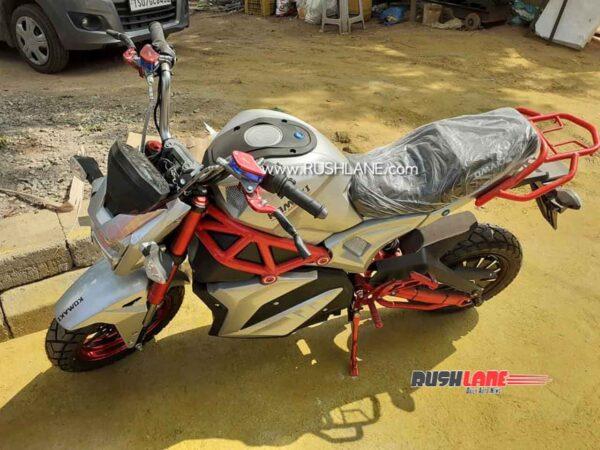Komaki Electric Motorcycle