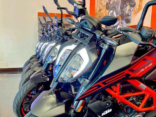 New KTM India Sales July 2021