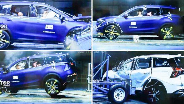 Mahindra XUV700 Crash Test