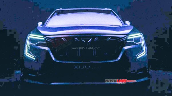 2022 Mahindra XUV700 Logo From Official Teaser
