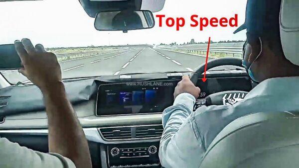 Mahindra XUV700 Top Speed Test