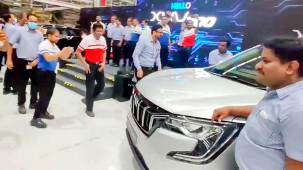 New Mahindra XUV700 Production At Chakan Plant In Pune