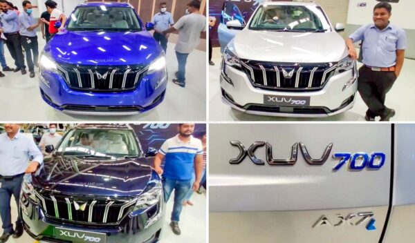 Mahindra XUV700 AX7L 7 Seater Variant - Top of the line