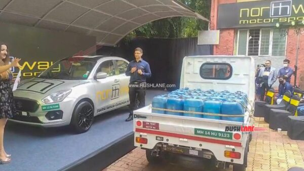 Tata Ace and Maruti Dzire Electric Conversion Kit