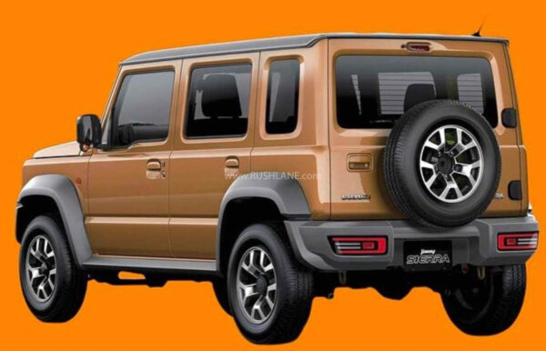 Maruti Suzuki Jimny 5 Door SUV - Render