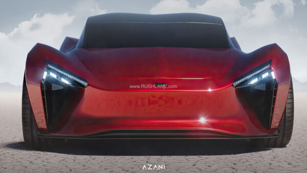 Azani Electric Hypercar From Mean Metal Motors
