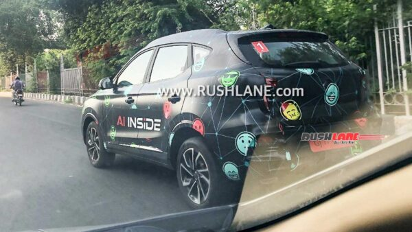 Upcoming MG Astor SUV spied in new camo