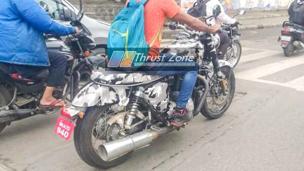 New Motorcycle Spied in Pune